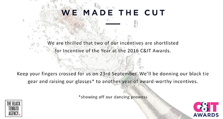 Incentive Programme of the Year: We made the cut