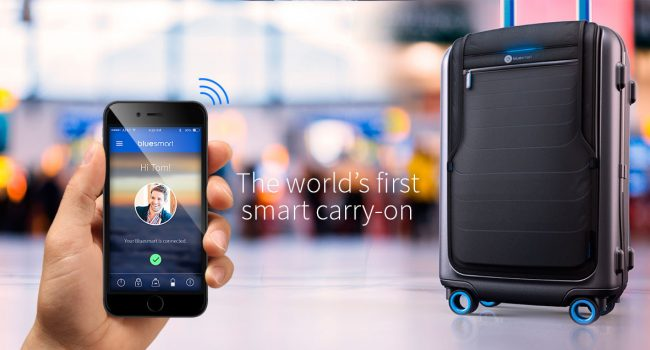 Bluesmart: The World's first smart carry-on bag