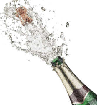 Incentive Programme of the Year: Champagne bottle popping
