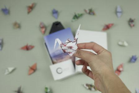 Mazda Origins origami crane