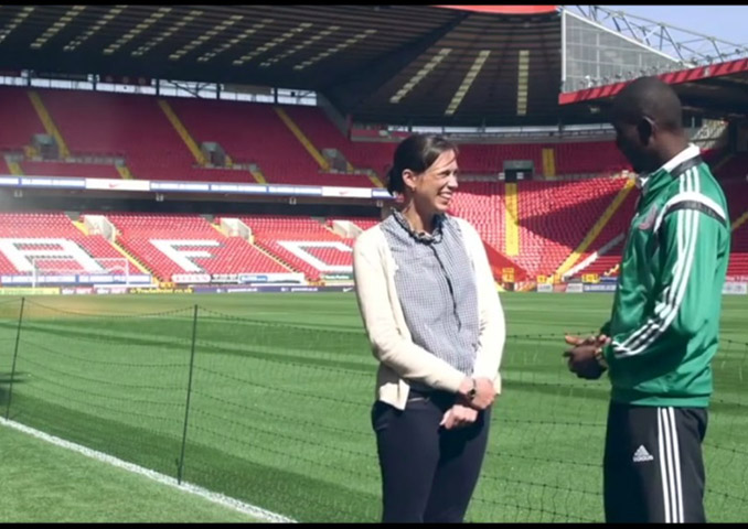 Interview with Charlton Athletic's CEO Katrien Meire