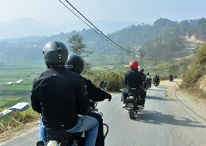 Royal Enfield road trip through Nepal