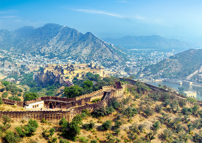 Rajasthan mountain fortress