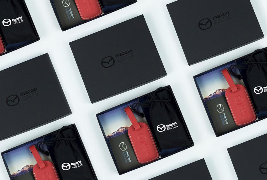 Mazda Elite travel packs