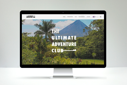BMW Ultimate Adventure Club Microsite