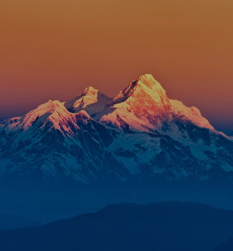 Nepal group incentive - Mount Everest at Sunset