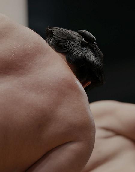 Sumo Wrestlers Prepare to Fight - Japan Group Educational Trip
