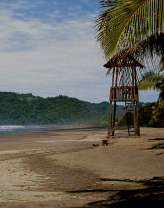 BMW Costa Rica Group Incentive - Costa Rica beach with watch tower