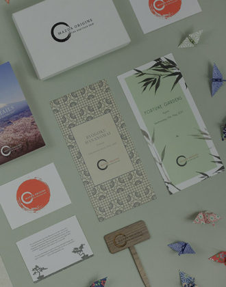 Mazda Origins Communications Platform - comms flat lay