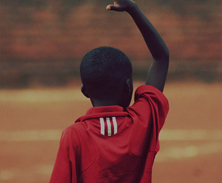Malta Guinness Experience - young boy celebrates scoring a goal