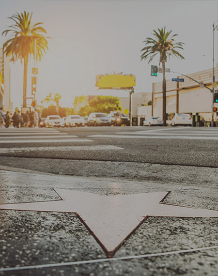 TSB prize experience social media promotion - Hollywood Walk of Fame